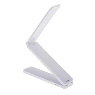 16 LED Rechargeable Foldable LED Desk Reading Lamp Portable Table Lamp Fold M6L7