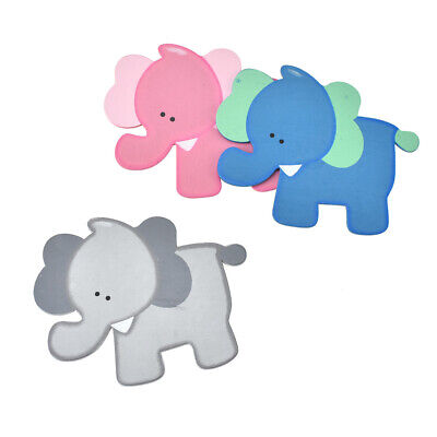 Wooden Elephant Animal Cutouts, Assorted Colors, 12-Piece](Wooden Animal Cutouts)