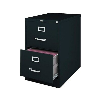 Staples 2-Drawer Legal Size Vertical File Cabinet Black (26.5-Inch) 489538 2 Drawer Legal File Cabinet