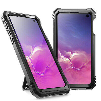 Samsung Galaxy S10e Case | Poetic Shockproof Cover with Screen Protector Black