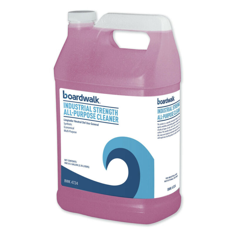 Boardwalk 4724 4/CT 1 gal Bottle Unscented Industrial Strength Glass Cleaner New