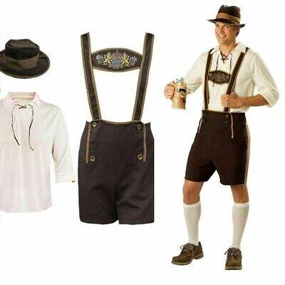 Oktoberfest Kostüm Kostüm Bayerische Lederhosen Bier Herren Karneval Outfits