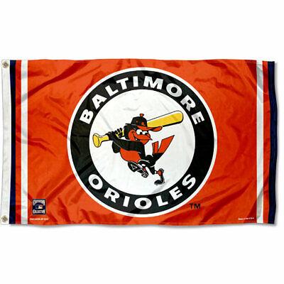 Baltimore Orioles Logo 3x5 Banner Flag Baltimore Orioles Banner Flag