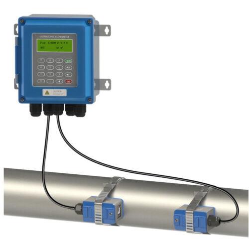 Ultrasonic liquid flow meter RS485 New TUF-2000B digital flowmeter DN25mm-100mm