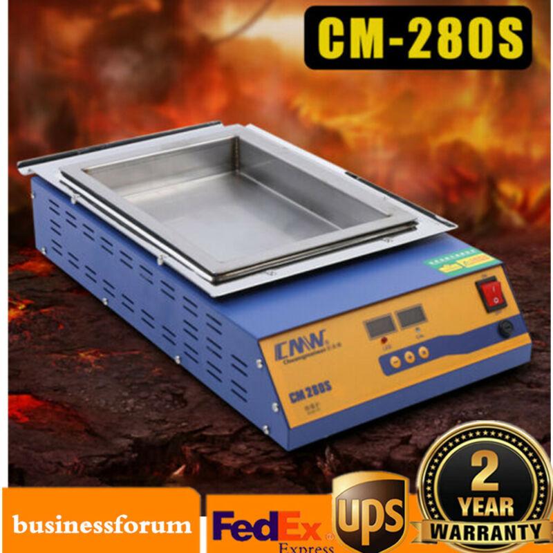 2KW CM-280S Lead-Free Titanium Alloy Solder Soldering Pot Desoldering Bath SALE