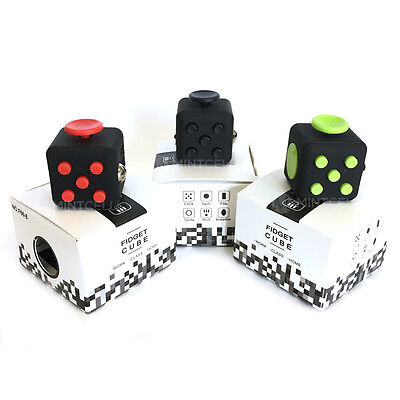 Stress Reliever Toys (Fidget Toy Focus Box Attention Cube Anxiety Stress Relief Kids Adults)