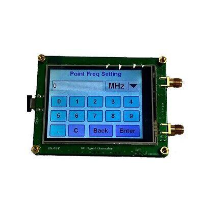 35m-4.4g Rf Signal Generator Board Sweep Spot Pll Frequency Generator Usb Touch