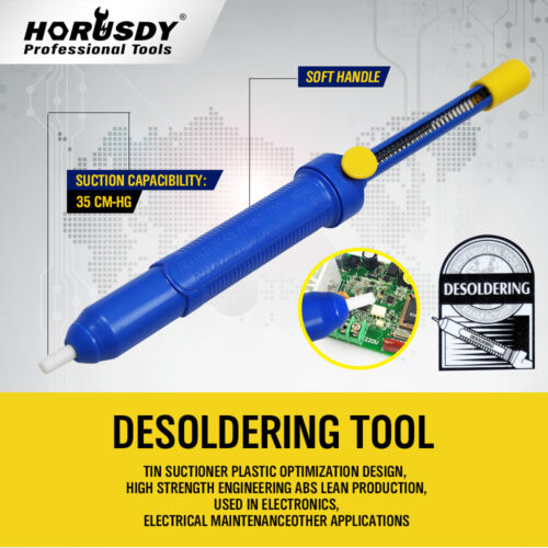 Desoldering Pump solder sucker Suction Tin Gun Vacuum Removal Large Size New