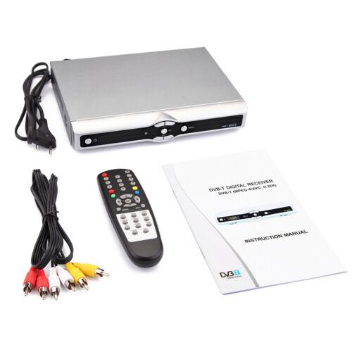 USB 2.0 HD SD DVB-T Digitaler Radio TV Receiver Konverter Box Empfänger