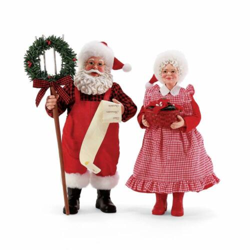 Dept 56 Possible Dreams LABOR OF LOVE SANTA & MRS CLAUS 6008565 Country Living