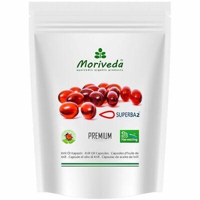 Öl 60 Gels (Krillöl Kapseln, 100% reines SUPERBA Premium Krill Öl (60 Softgels) INKL.Versand)