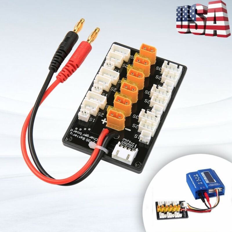 1S-3S XT30 Parallel Charging Board Balance For IMAX B6 B6AC