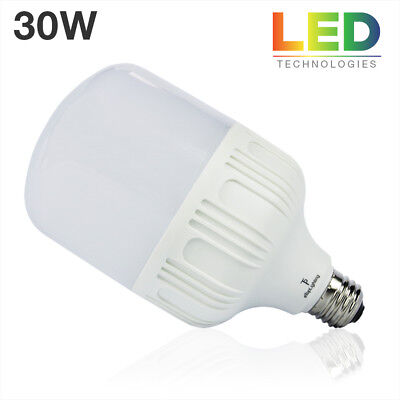 (E26 30W 6000K LED Light Photo Studio Bulb Photography Daylight White Light Lamp)