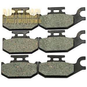 F-R-Kevlar-Carbon-Brake-Pads-2006-BOMBARDIER-BRP-Outlander-Max-650-650-HO-4x4