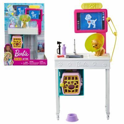Práctica Veterinaria y Accesorios | Barbie Mattel GJL68 | Muebles para la...