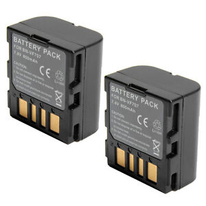 2x Battery for BN-VF707 BN-VF707U JVC Everio GZ-MG21U Camcorder ship from USA