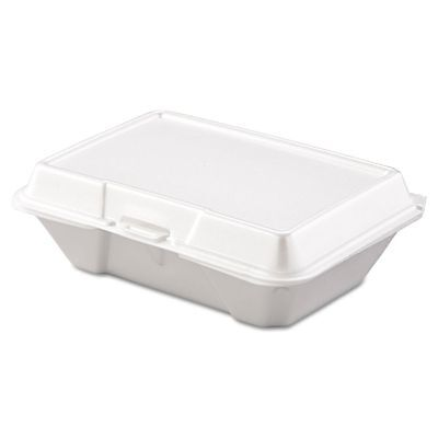 Dart Takeout Foam Clamshell Food Containers - DCC205HT1