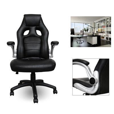 Bürosessel Gaming Stuhl Chefsessel Drehstuhl mit Armlehnen Belastbarkeit 200 kg
