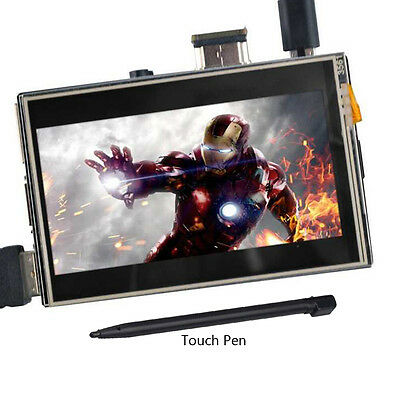 "US 3.5"" HDMI LCD Display Touch Screen for Raspberry Pi 2 3 Model B+"