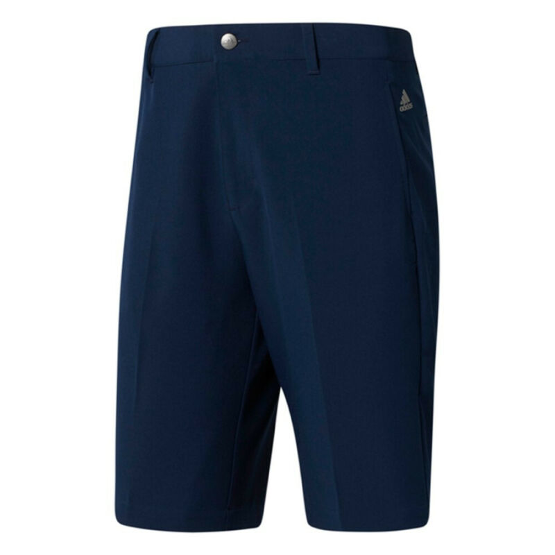 New Adidas Golf Adi Ultimate 3-Stripes Shorts  Shirt Grip Stretch Waistband