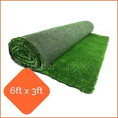 Artificial Display Grass Green Grocers Market Stall 6x3 Florist Butcher Shop