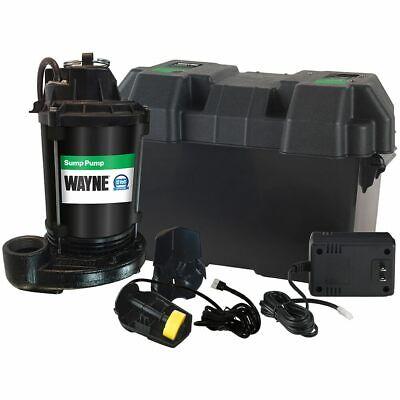 Wayne - Esp25 - Battery Backup Sump Pump 1500 Gph 10