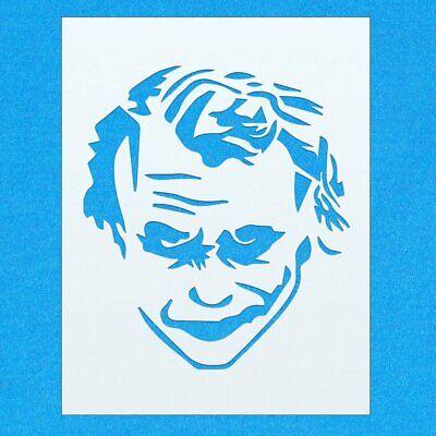 Paint Joker Face (Joker Batman Character Face Mylar Airbrush Painting Wall Art Crafts Stencil)