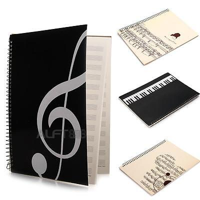 Music Sheet Composition Manuscript Paper Stave Notebook A4 40 Pages New