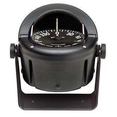 Ritchie Marine HB-740 Helmsman Bracket Mount Boat Compass Black 3-3/4 inch Dial