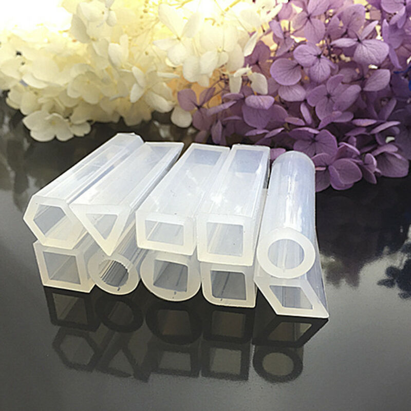 7x Silicone Molds Pendant Resin Accessories For DIY Pendant