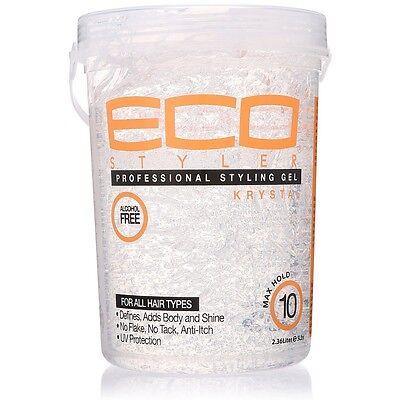 ECO Styler Professional Styling Gel, Krystal Clear 80 (Gel Styler)