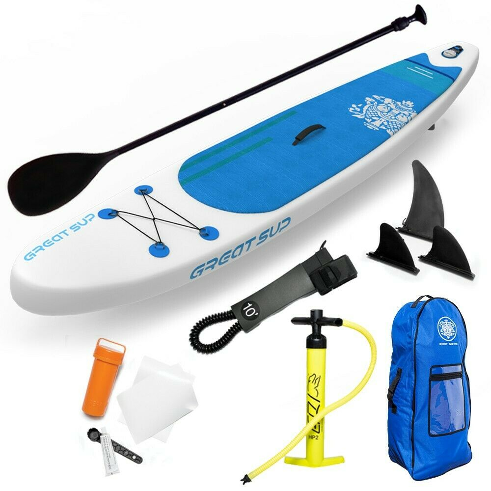 Great SUP Inflatable 12'7'' Explorer Stand Up Paddle Board