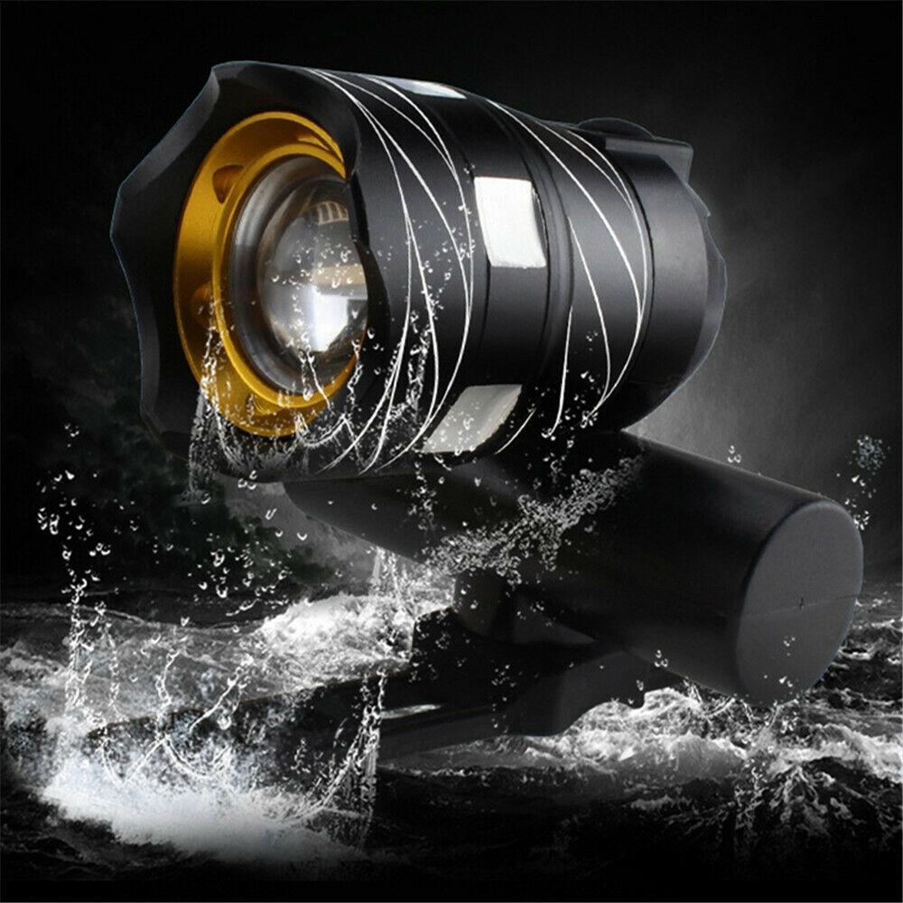 Rechargeable 15000LM XM-L T6 LED MTB Bicycle Light Bike Fron