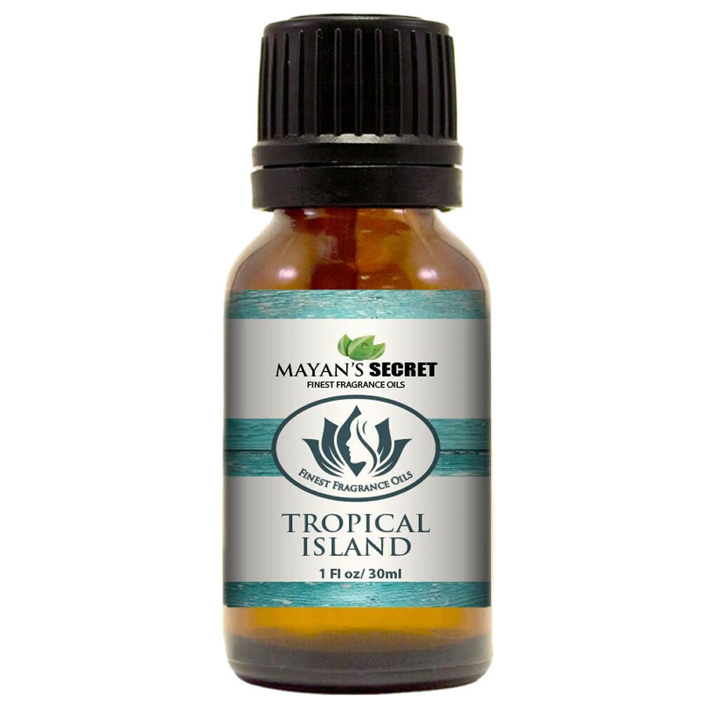 Mayan's Secret- Tropical Island – Premium Grade Fragrance Oil (30ml) Candle Making & Soap Making