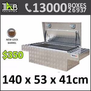 TIAB 1454 - ALUMINIUM DUAL CAB LINING TOOLBOX Berowra Hornsby Area Preview