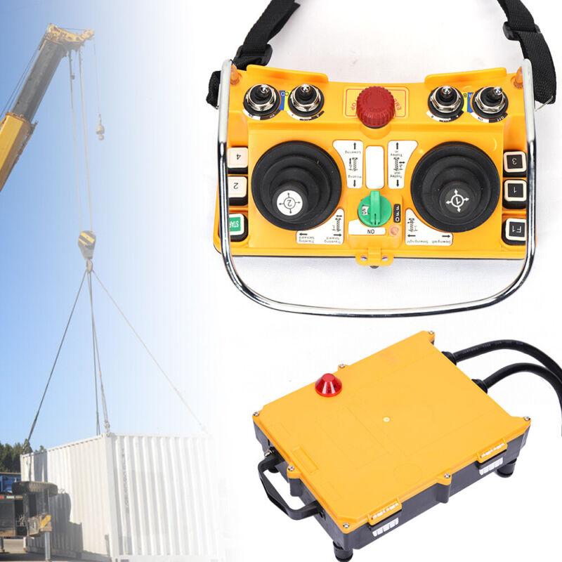 Joystick Crane Industria Radio Remote Control Wireless Transmitter&Receiver US