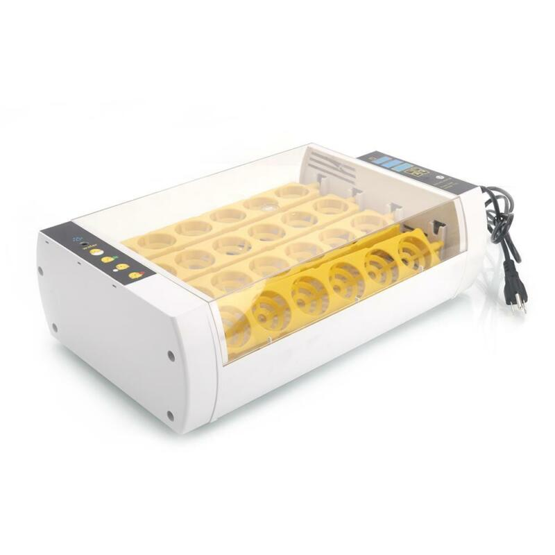 Full Automatic Poultry 24  Digital Chick Duck Egg Incubator Temperature Control