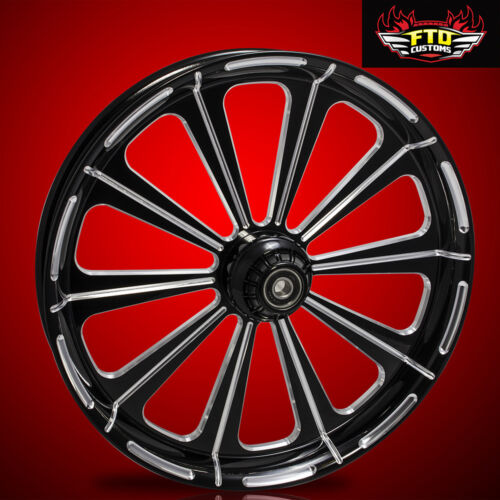 "Harley Davidson 30 Inch Black Contrast Front Wheel ""redemption"""
