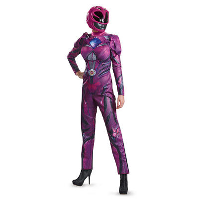 Womens Pink Power Ranger Deluxe Costume - Power Ranger Costumes Pink