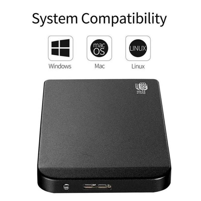 "Portable 2TB USB 3.0 2.5"" External Hard Drive Disk Ultra Slim For PC Laptop"