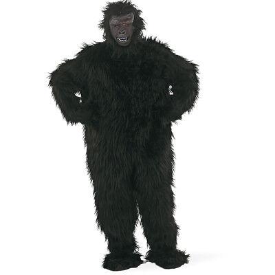 schwarzer Gorilla Herren Kostüm Menschenaffe Affe - Kostüm Schwarzen Menschen