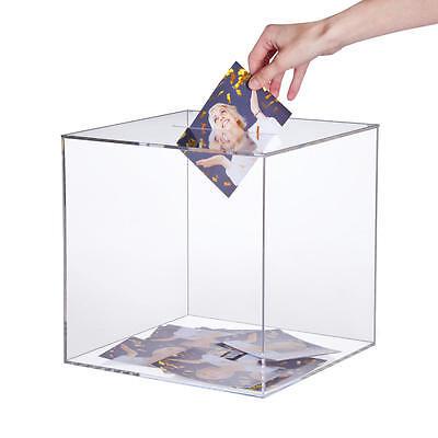 Losbox / Acrylbox / Einwurbox / Wahlurne aus Acrylglas