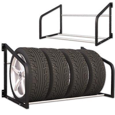 Reifenregal Wandregal Reifen Regal Wandhalterung Reifenhalter Reifenständer KFZ