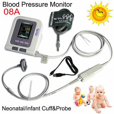 Usa Stockinfant Pediatric Born Blood Pressure Monitor Spo2 Heart Rate Software