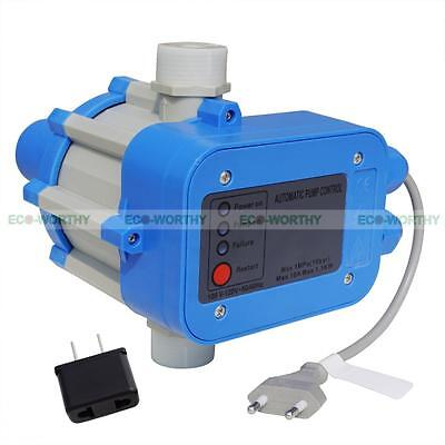 Auto Water Pump Pressure Controller Electronic Switch Control Unit 110v 10bar