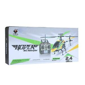 100% Original Wltoys V912 Large 4CH Single Blade RC Helicopter NEW T6K2