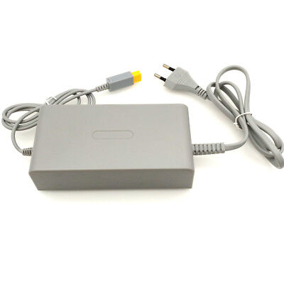 EU 15V 5A Power Supply Charger Adapter Cable for Nintendo Wii U...