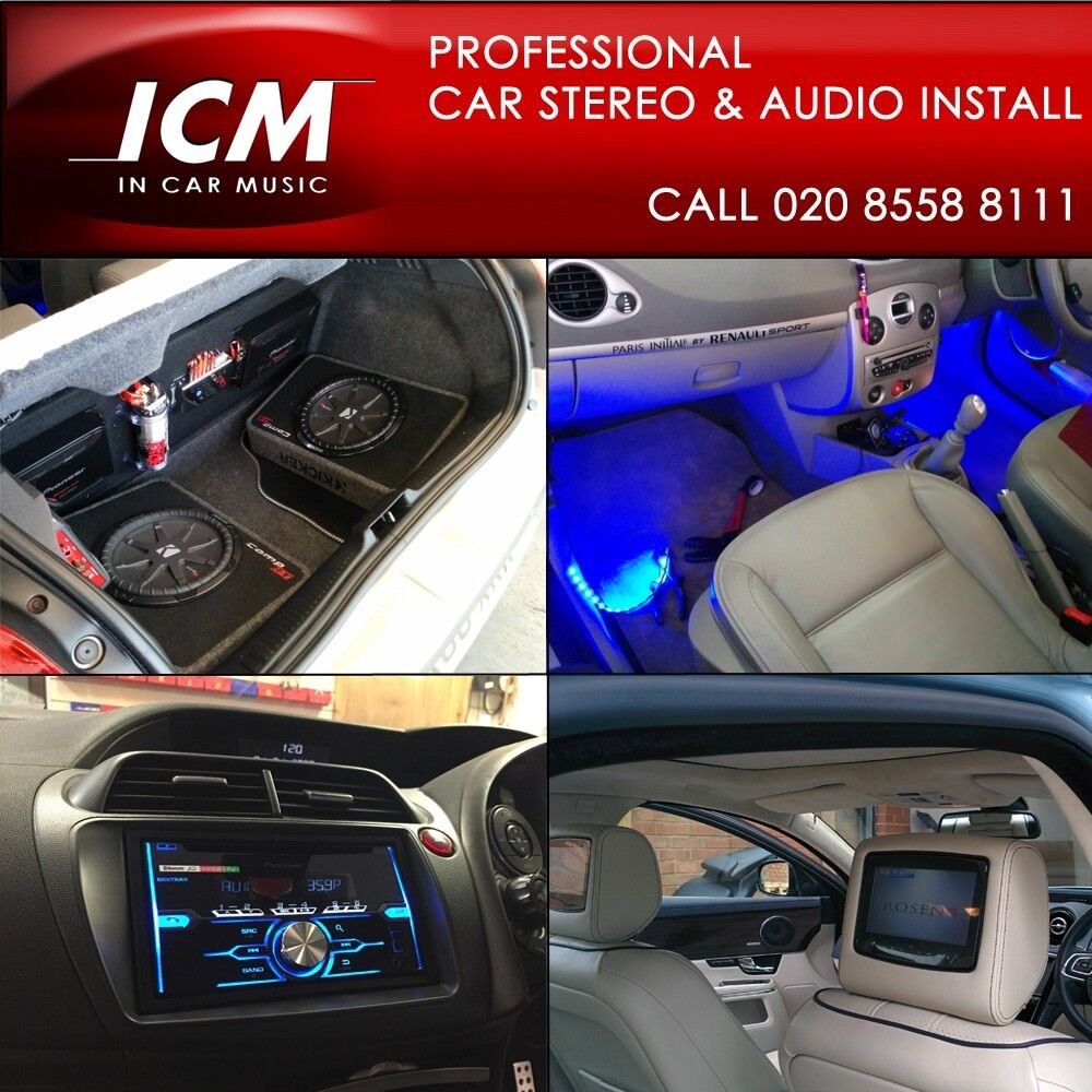 Car Audio Radio Stereo Subwoofers Amplifier Speakers Installation Wiring Subwoofer Bluetooth Alarms Tracker Fitting