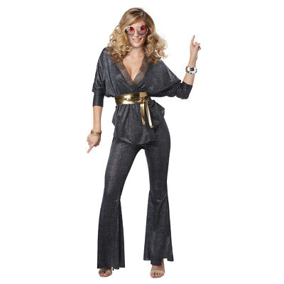 Womens Disco Dazzler 70s Decade - Decades Costumes