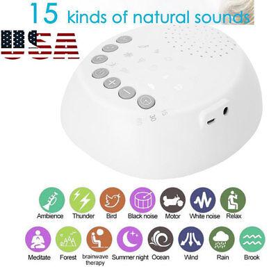 Sound Spa Relax Machine White Noise Baby Easy Sleep Night Nature Peace Therapy (Sleep Sound Machines)